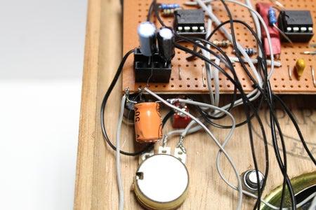 Bonus!  Change the Sound by Adding Some Capacitors