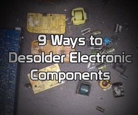 9 Different Desoldering Techniques