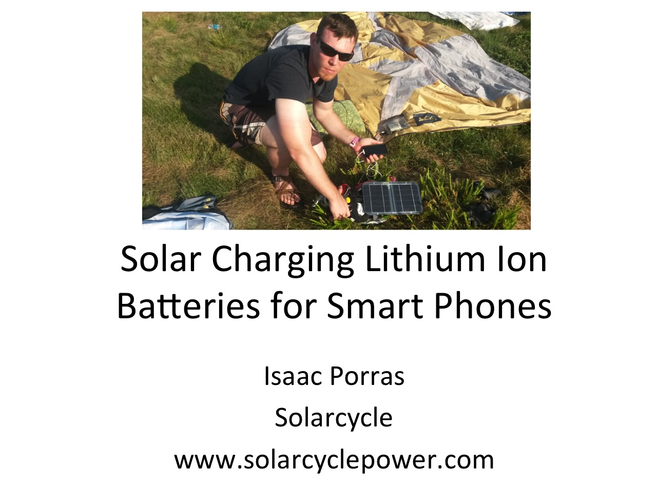 Picture of How to Solar Charge Lithium Ion Batteries for Smart Phones