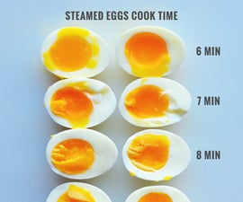 Steam Eggs Instead of Boiling!