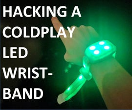 Hacking a Coldplay LED Wristband