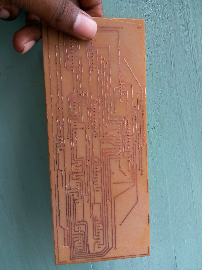 Picture of Drill the PCB