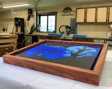 Floating Picture Frames