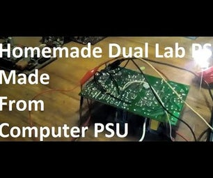 Dual Lab PSU With Protection Made From Computer PSU