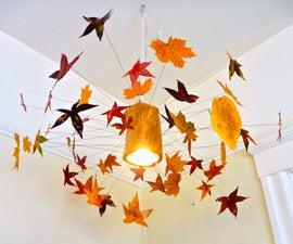 Autumn Leaf Lamp