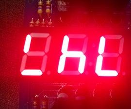 Binary Clock in Digital Display
