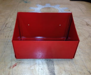 Sandblasting and Powder Coating Sheet Metal Toolbox .... or Just About Anything