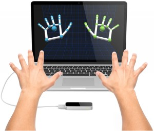 Picture of Java and Leap Motion Controller Setup