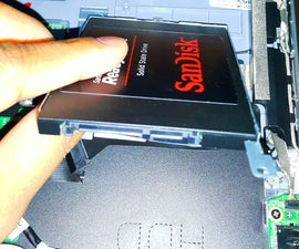 Replacing the HDD in Dell Inspiron 3147.