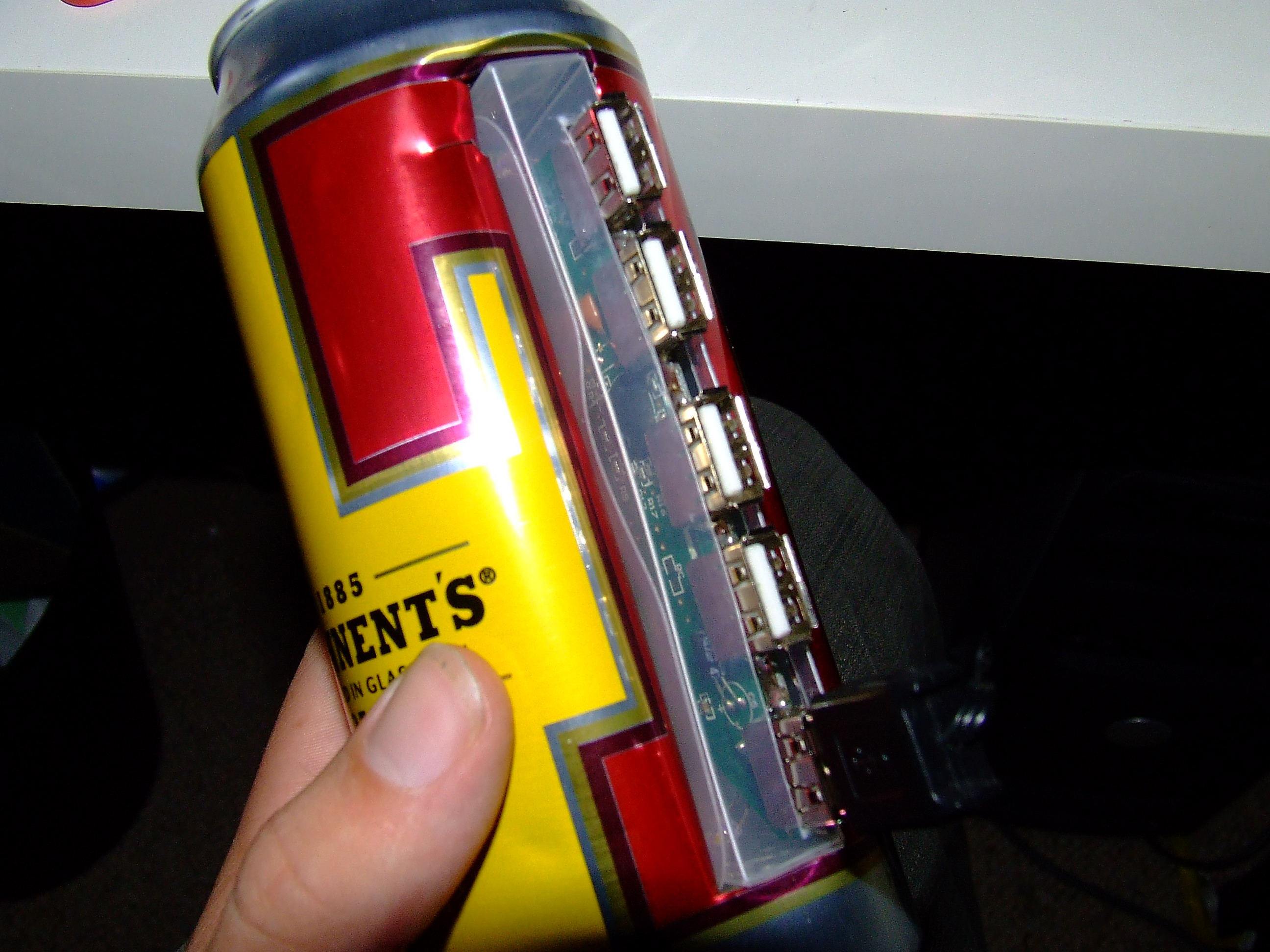 Picture of Beer Can Usb Hub Hack
