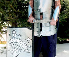 How to Make Build a Gondorian Suit of Armour From Authentic Materials (well, Almost)