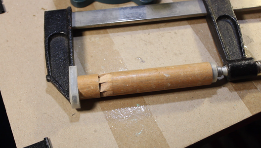 Reattach the Dowel