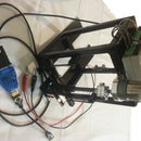 Standing Linear Actuator; powered by Modtronix