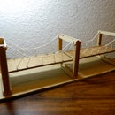 Simple Suspension Bridge Model
