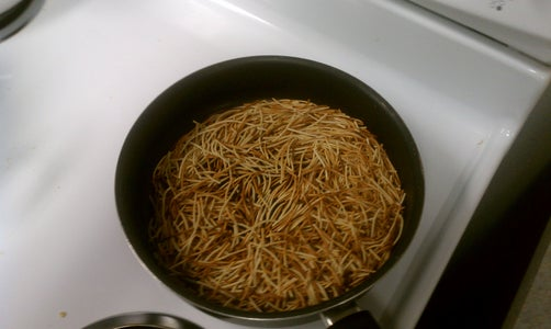 Brown the Noodles