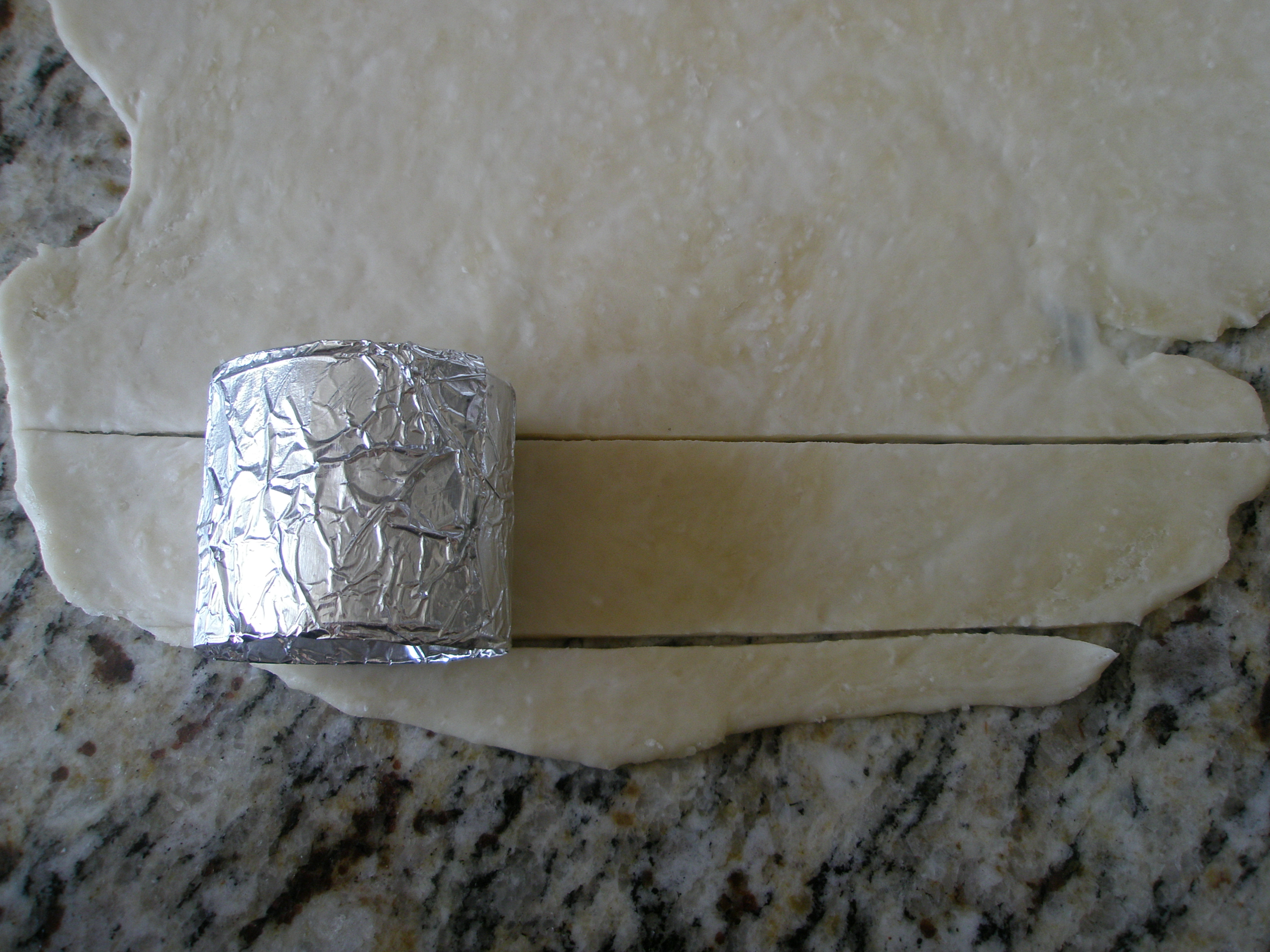 Picture of Making the Crackers - Measuring the Dough