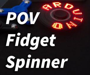 POV Arduino Fidget Spinner
