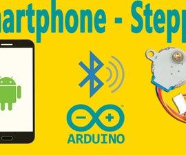 Arduino : How to Control Stepper Motor Via Bluetooth (with Smartphone)