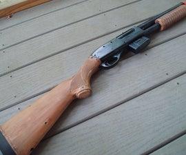 Convert a spring airsoft gun to full auto