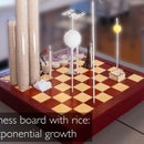 Chess Board With Rice: Exponential Growth