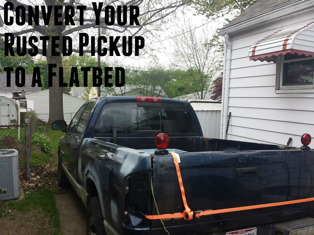 Convert Your Pickup Truck To A Flatbed 7 Steps With Pictures Instructables