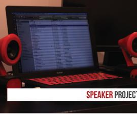 3d Printed Speaker Project