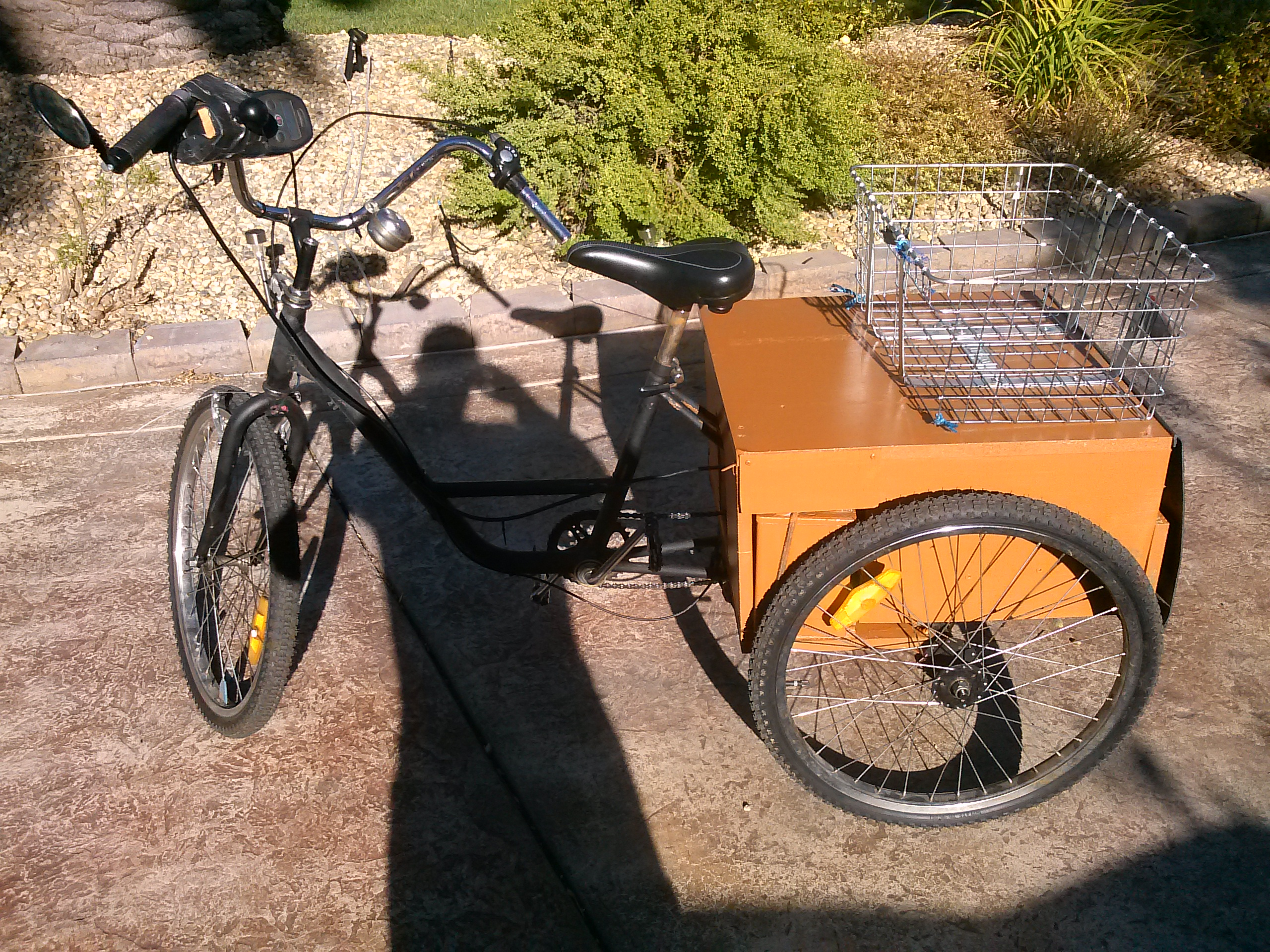 Electric Trike on the Cheap: 7 Steps (with Pictures)