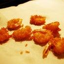 Coconut Beer-battered Shrimp