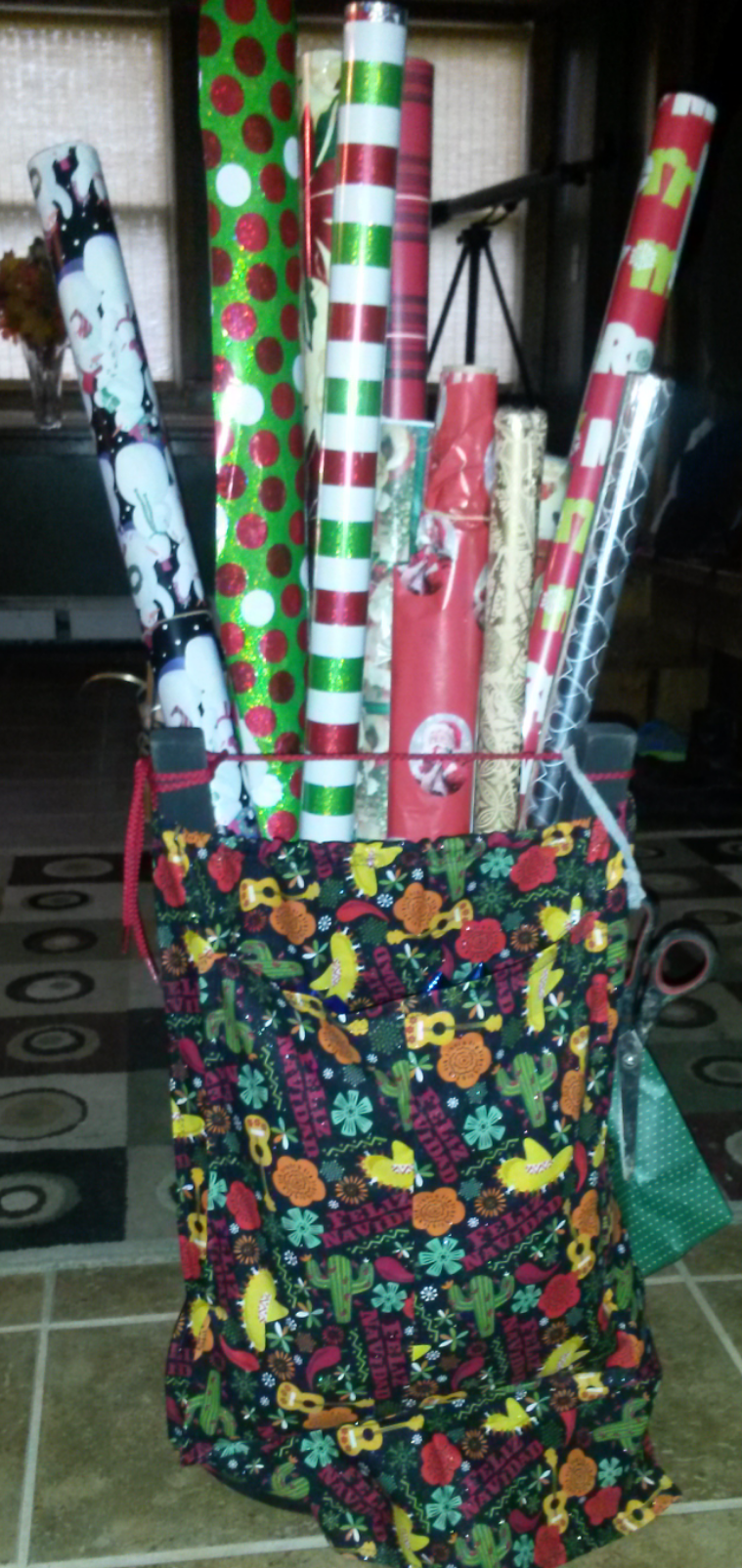 Picture of Wrapping Paper Holder