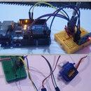 Controlling Servo Using MPU6050 Between Arduino and ESP8266 With HC-12