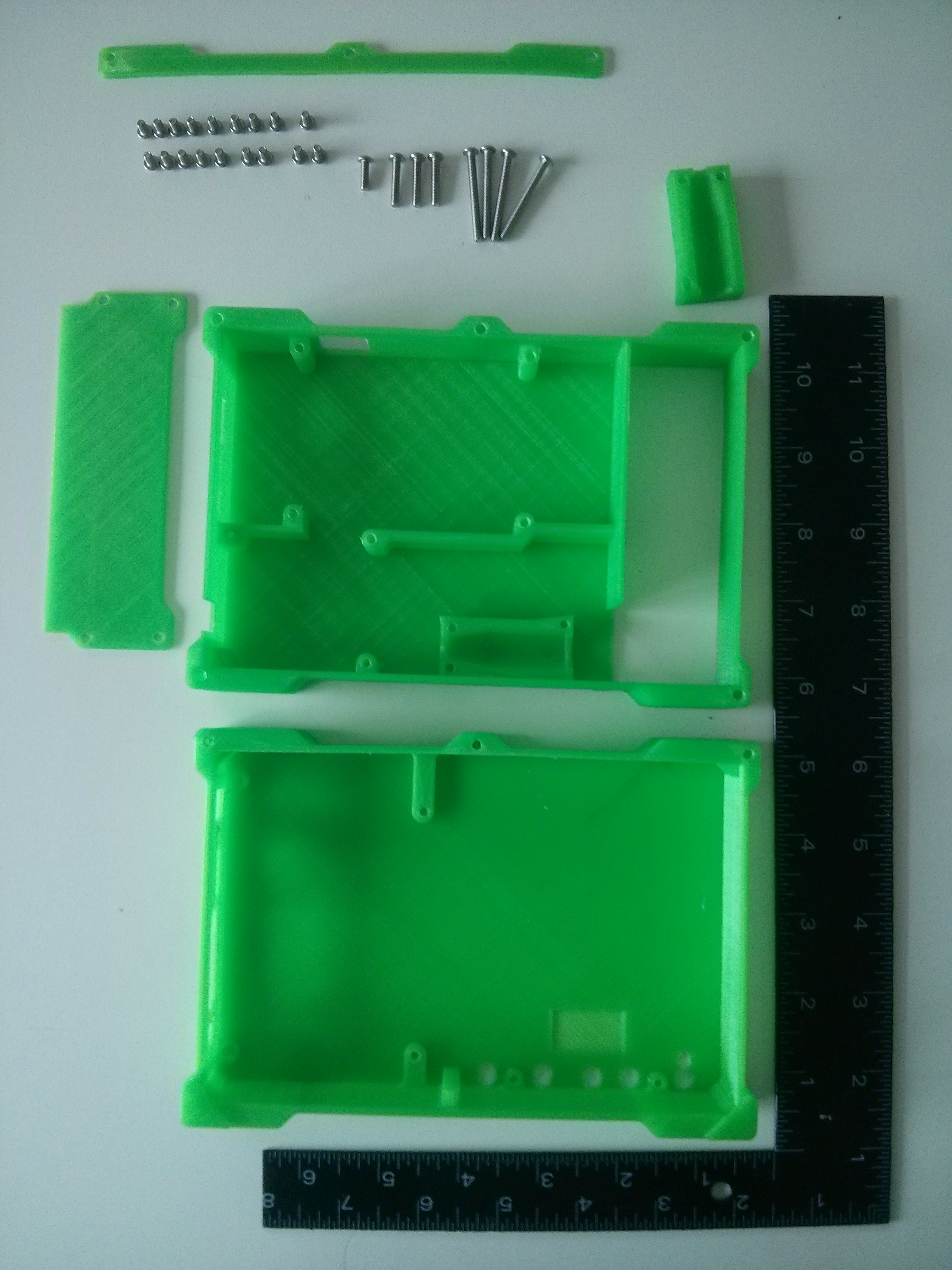 Picture of The LCD Assembly