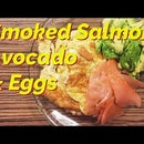 Simple Egg, Salmon & Avocado Breakfast