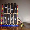 K'nex Tech Deck Stand (holds 8 Fingerboard Decks)