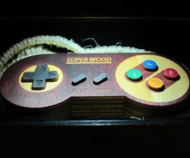 Super Wood Controller - A piece of wood and a piece of history.