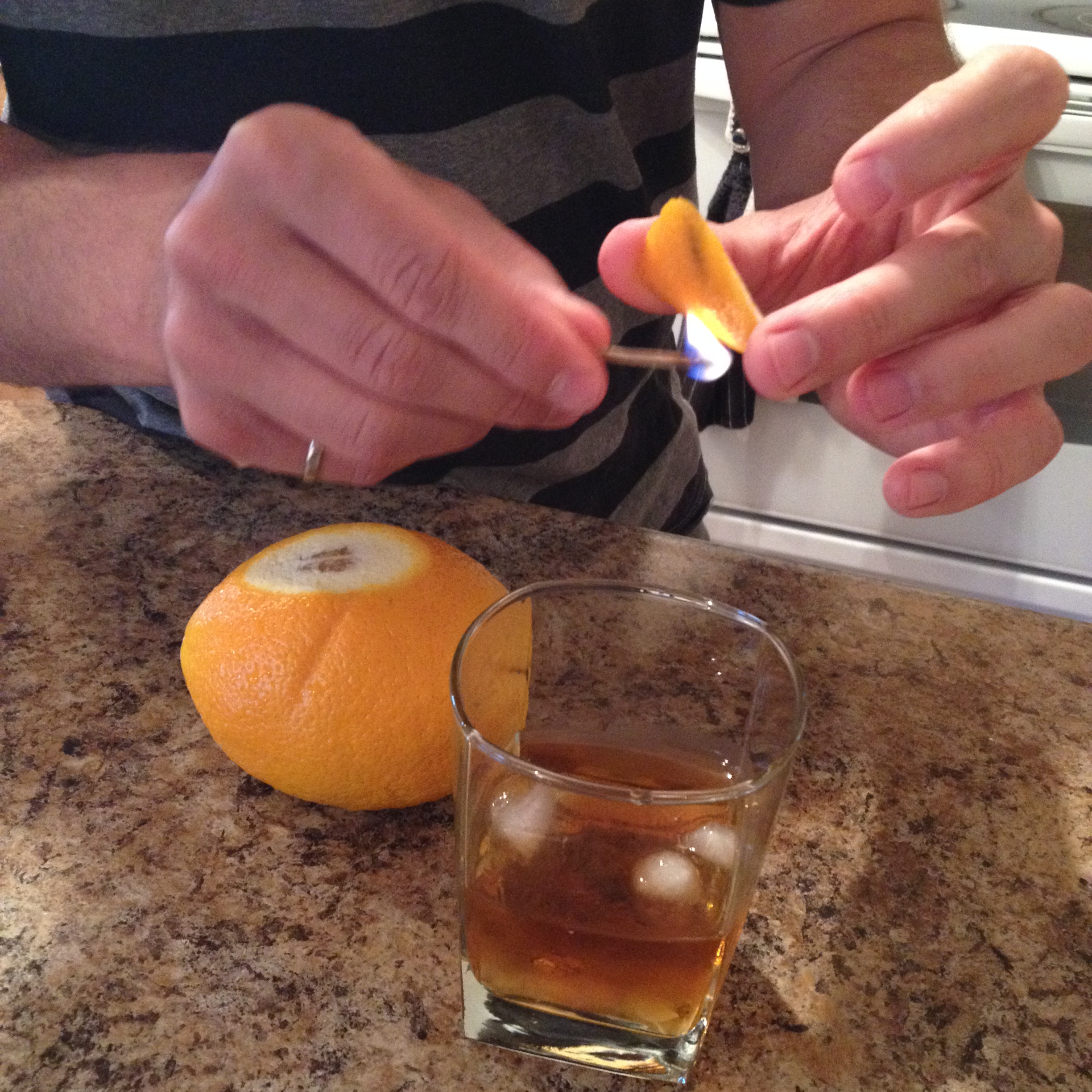 Picture of Citrus Flaming