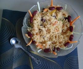 One Pot Vegetable Couscous