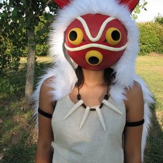 Princess Mononoke San Mask Instructables