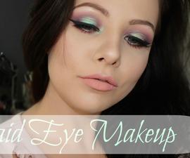 Mermaid Inspired Eye Makeup