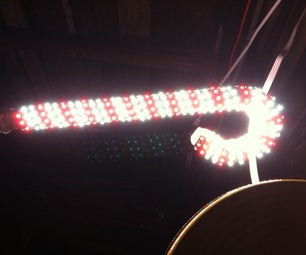 Holiday LED Candy Cane