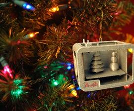 3D Printer Christmas Ornament