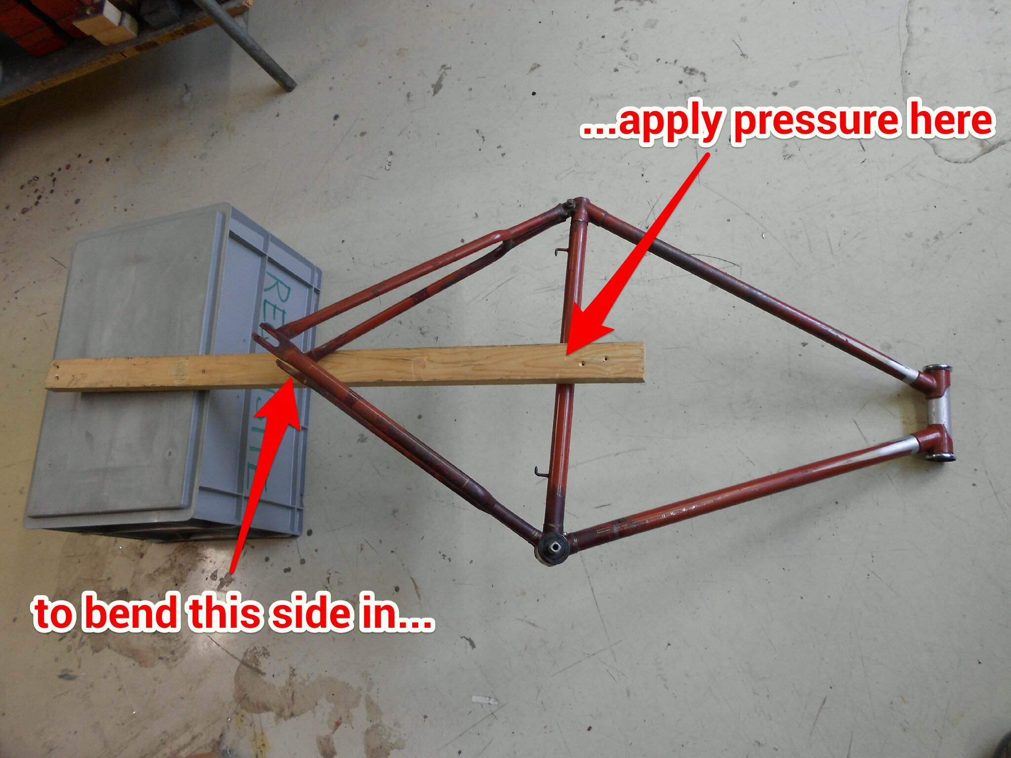 Picture of Bending the Frame