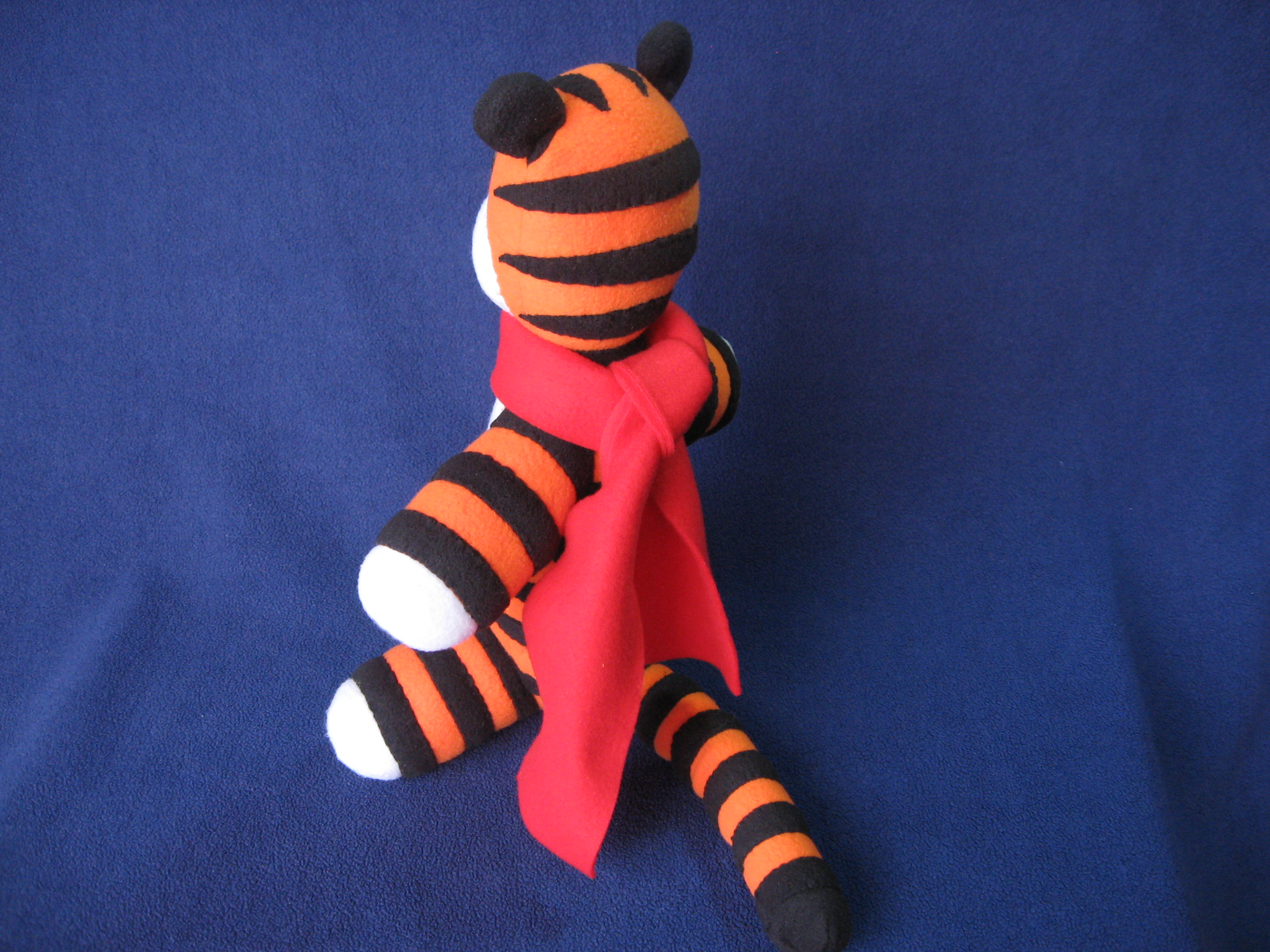 Picture of Make Your Own Stuffed Hobbes (Free Pattern!)
