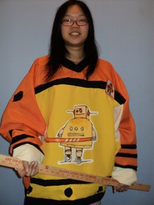 Instructables Robot Hockey Shirt