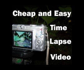 Cheap and Easy Time Lapse Video (Intervalometry)