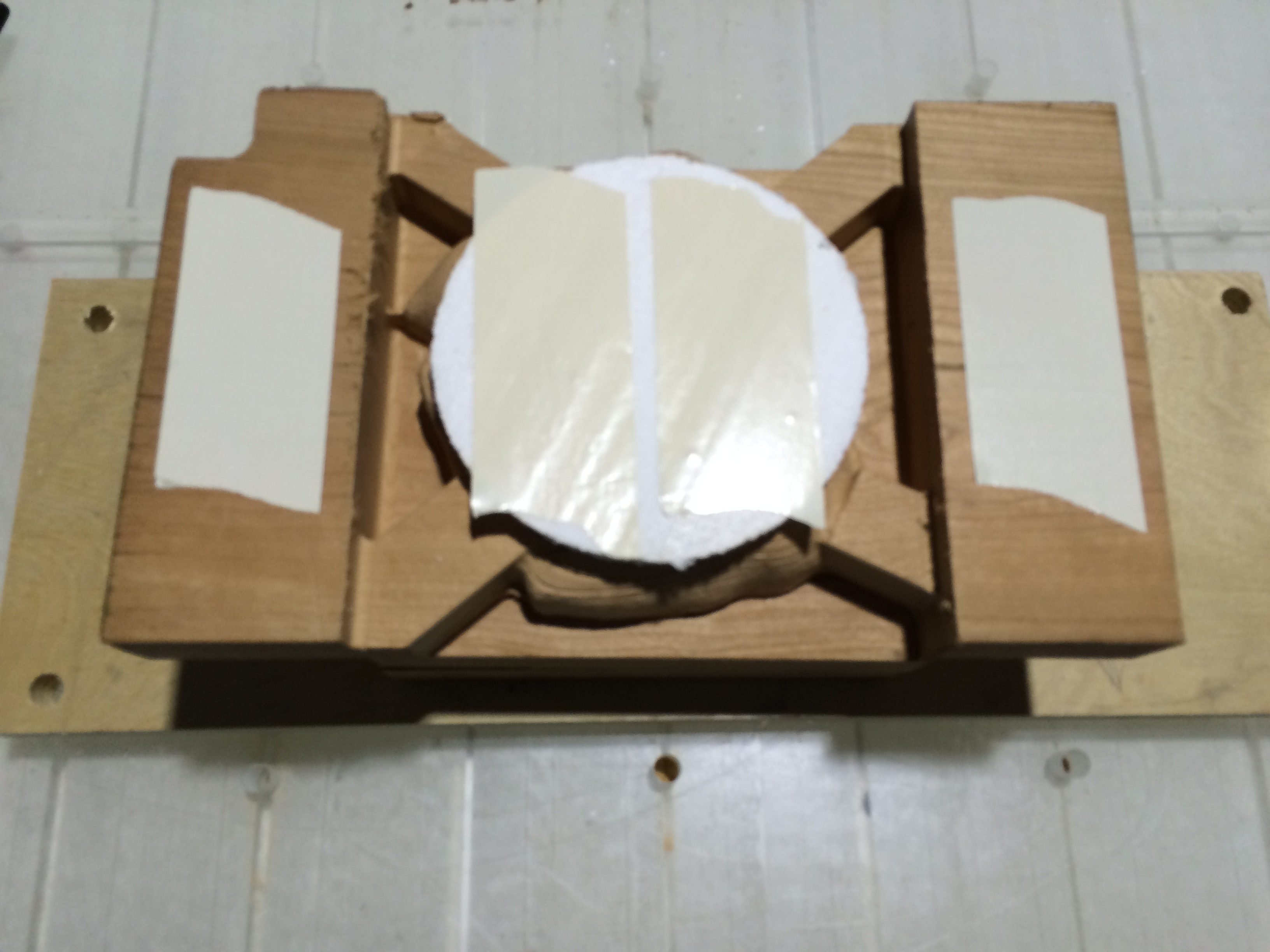 Picture of Fixture Material for 3+2 Axis Machining