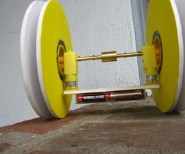 2 wheel Android weight controlled robot