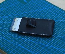Making a Minimalist Leather Wallet