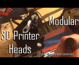 Turn Your 3d Printers Into CNC and Laser Cutters!