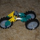 easy 3 wheel knex motorcycle