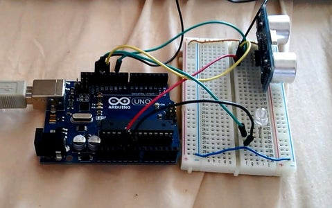 Measuring Distance Using the HCSR04 Ultrasonic Sensor and Arduino